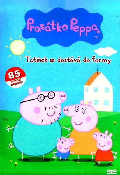 Prasátko Peppa 3 - Tatínek se dostává do formy - plast DVD