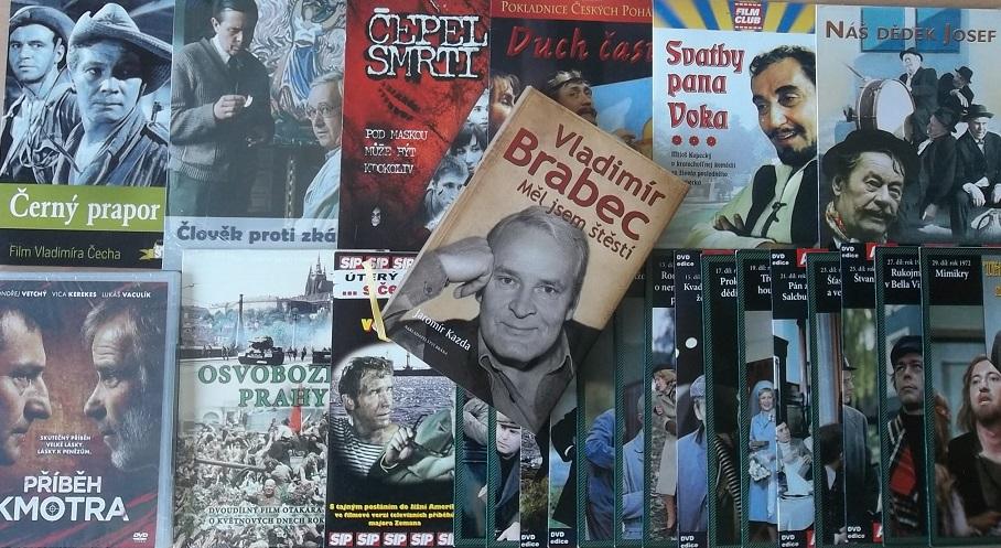 Kolekce Vladimír Brabec ( 1 kniha + 24 DVD )