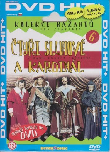 Bažanti 06 - Čtyři sluhové a kardinál - DVD