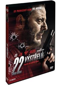 22 výstřelů DVD