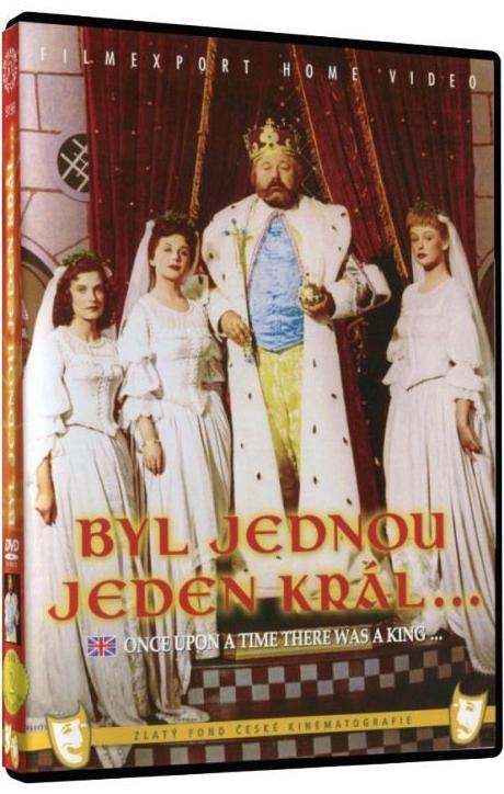 Byl jednou jeden král - DVD box