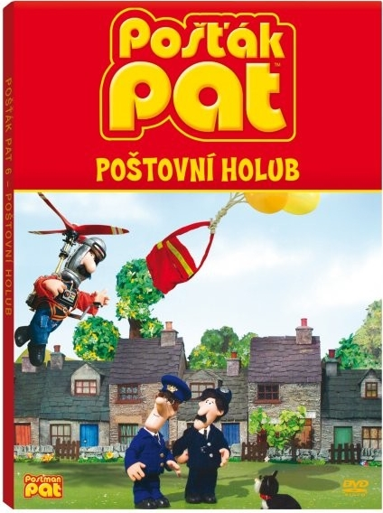 Pošťák Pat -poštovní holub - DVD Digipack