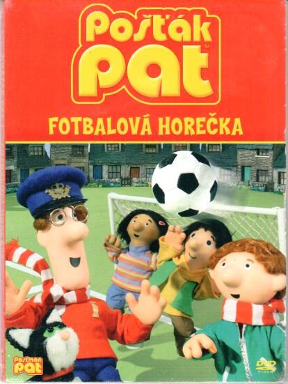 Pošťák Pat - Fotbalová horečka - DVD digipack