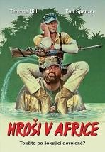 Hroši v Africe DVD papírová pošetka