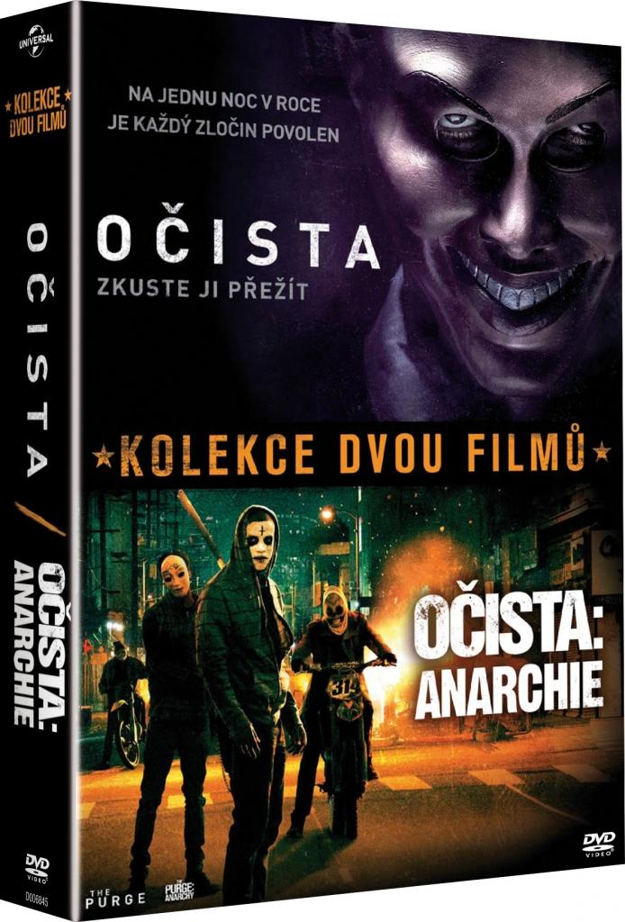 Očista 1+2 - DVD