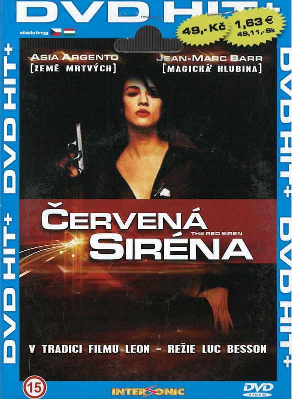 Červená siréna - DVD