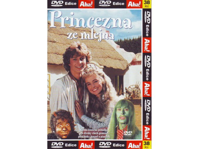 Princezna ze mlejna - DVD pošetka