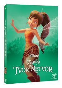 Zvonilka a tvor Netvor - Edice Disney Víly DVD