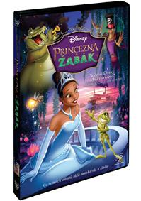Princezna a žabák DVD plast