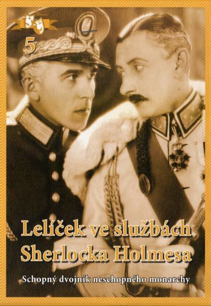 Lelíček ve službách Sherlocka Holmesa - Papírová pošetka DVD