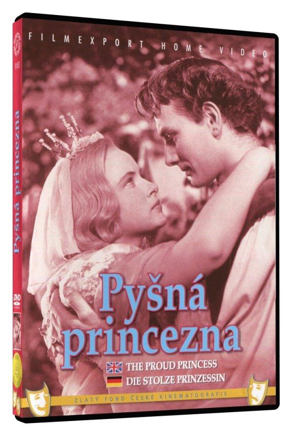 Pyšná princezna DVD Box