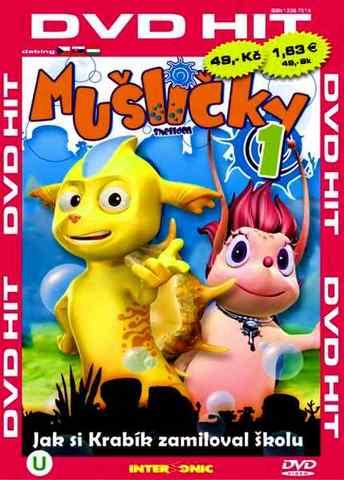 Mušličky 1 - DVD