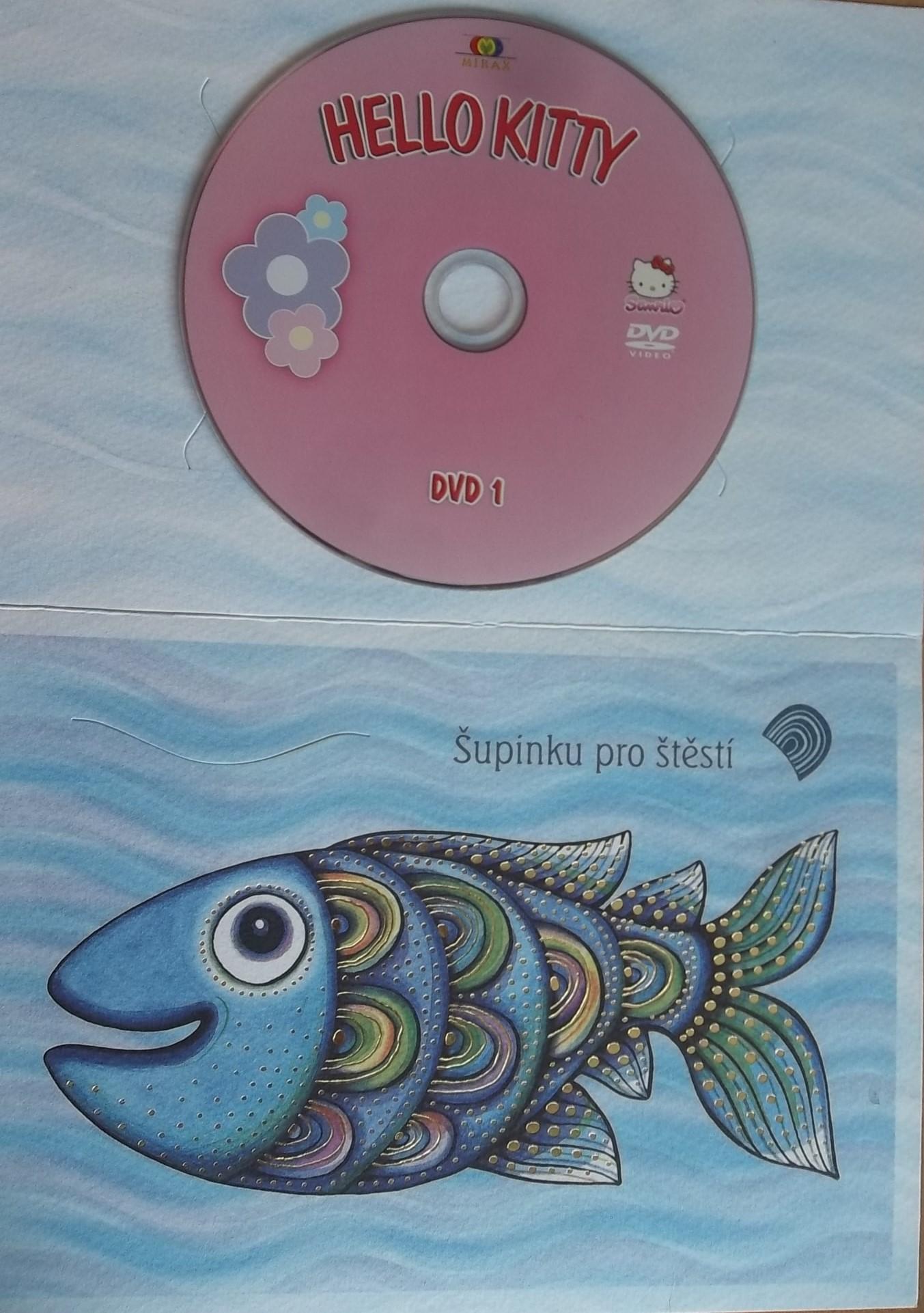 Hello Kitty DVD1: Dobrodružství v Pařízkově (dárková obálka)