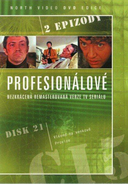 Profesionálové 21 - DVD