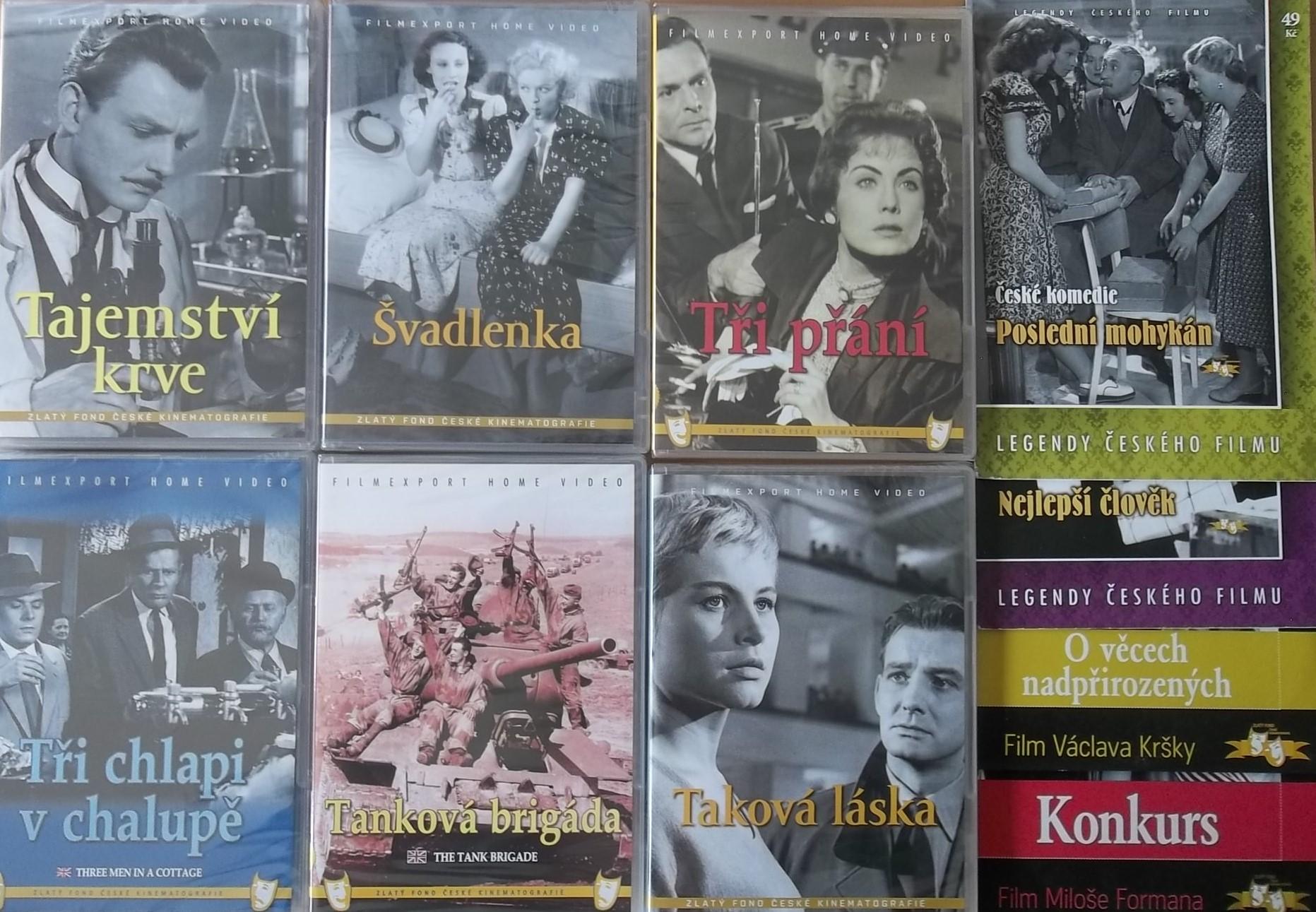 Kolekce starý český film 12. - 6DVD Plast + 4DVD zdarma