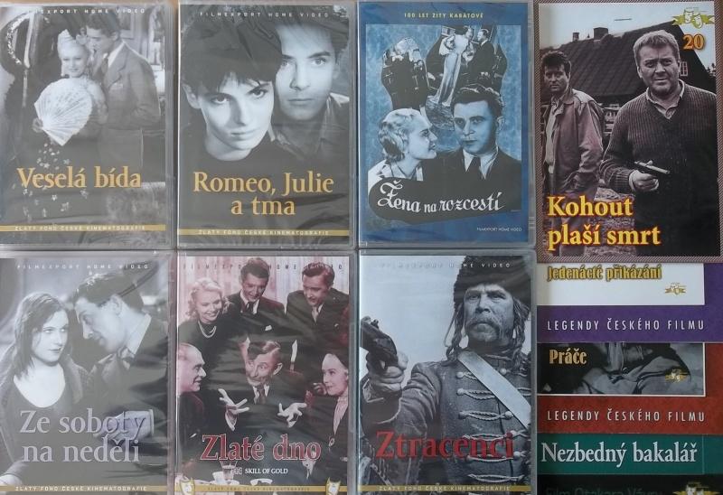 Kolekce starý český film 13. - 6DVD Plast + 4DVD zdarma