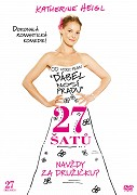 27 šatů DVD plast