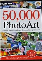 50,000 Photo Art PC CD-ROM 3CD