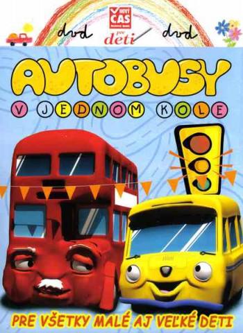 Autobusy v jednom kole DVD pošetka