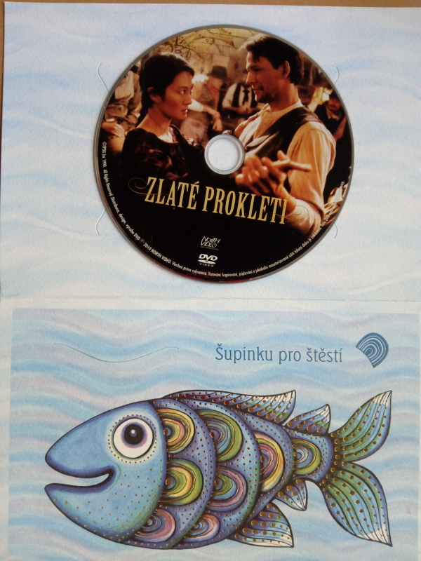 Zlaté prokletí (dárková obálka) DVD