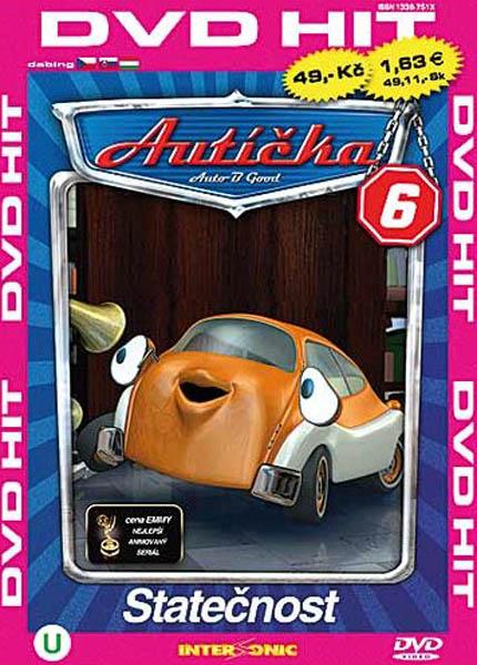 Autíčka 6 - DVD