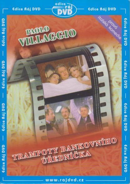 Trampoty bankovního úředníčka - DVD