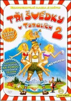 Tři švédky v Tyrolích 2 - DVD