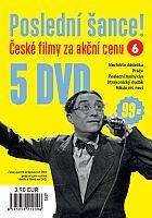 Poslední šance č. 6 - 5x DVD - papírové pošetky