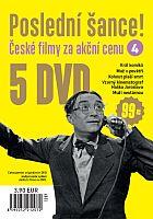 Poslední šance č. 4 - 5x DVD - papírové pošetky