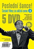 Poslední šance č. 3 - 5x DVD - papírové pošetky