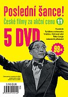 Poslední šance č. 11 - 5x DVD - papírové pošetky