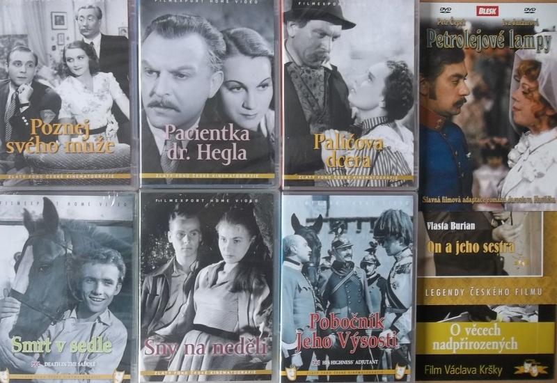 Kolekce starý český film 35. - 6DVD plast + 3DVD dárek