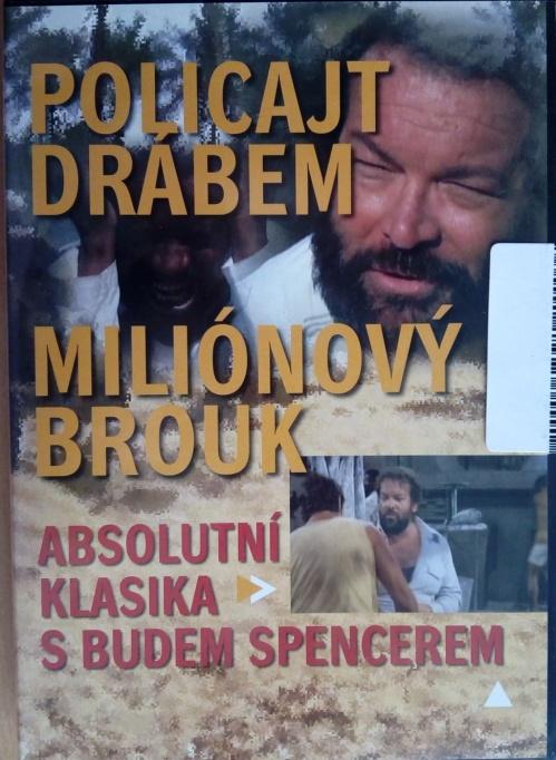 Policajt drábem / Miliónový brouk DVD plast