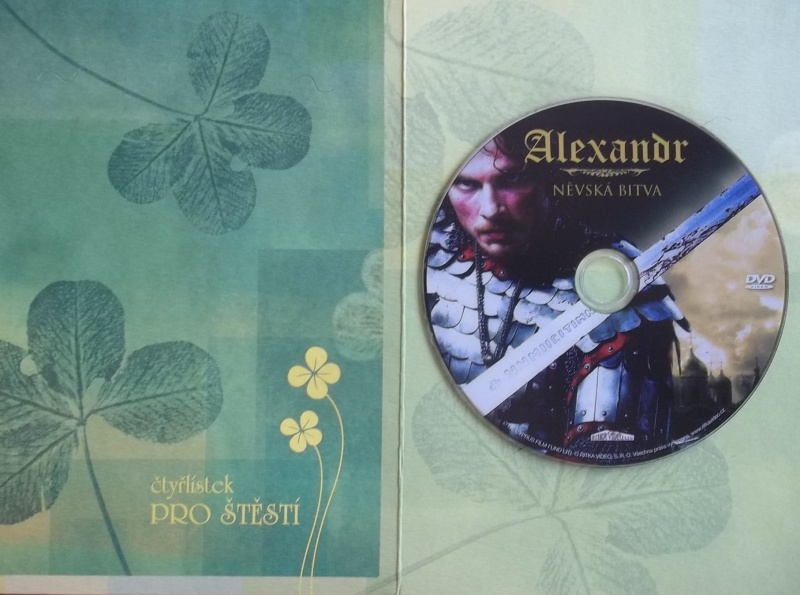 Alexandr: Něvská bitva (dárková obálka) DVD