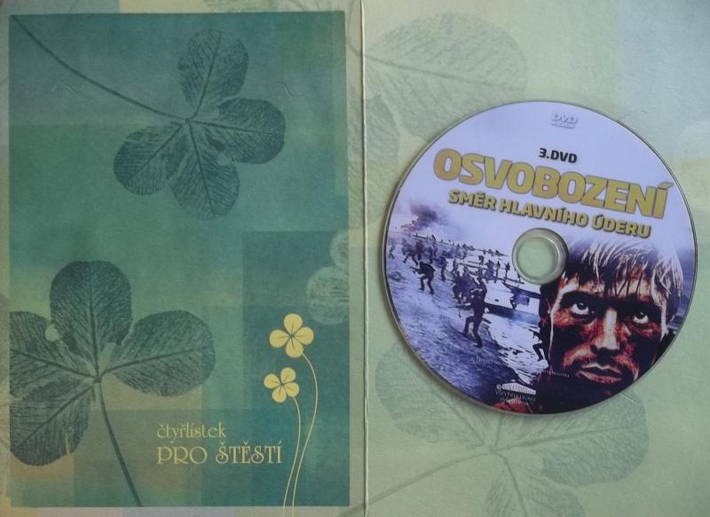Osvobození: Směr hlavního úderu DVD 3. (dárková obálka