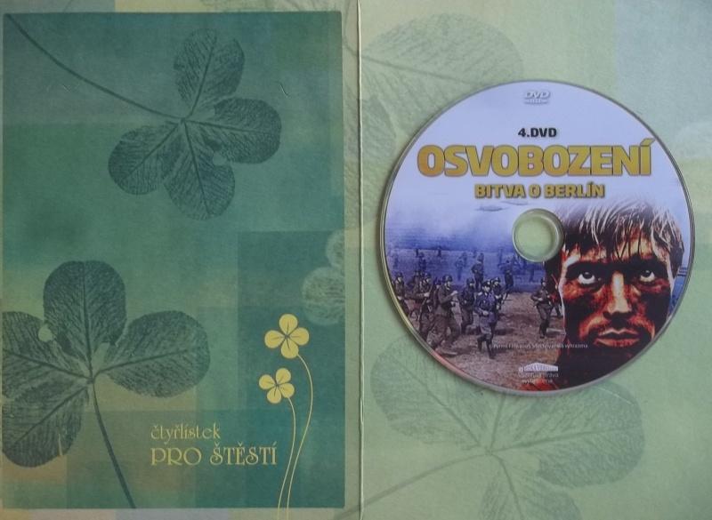 Osovobození: Bitva o Berlín DVD 4. (dárková obálka)