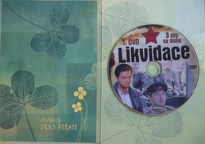 Likvidace 1. (dárková obálka) DVD