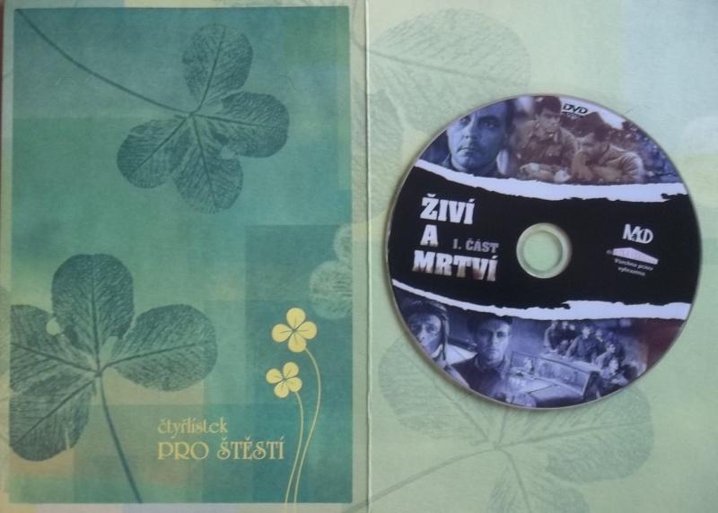 Živí a mrtví 1 (dárková obálka) DVD