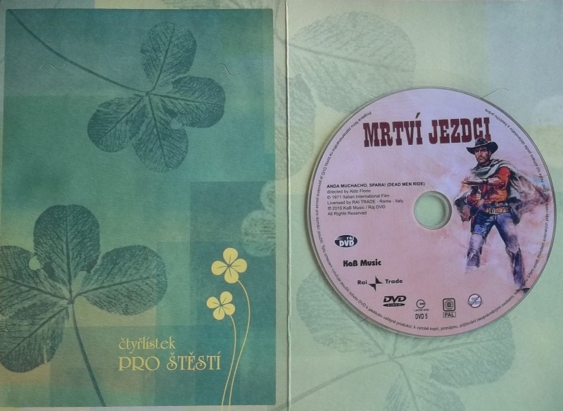 Mrtví jezdci (dárková obálka) DVD