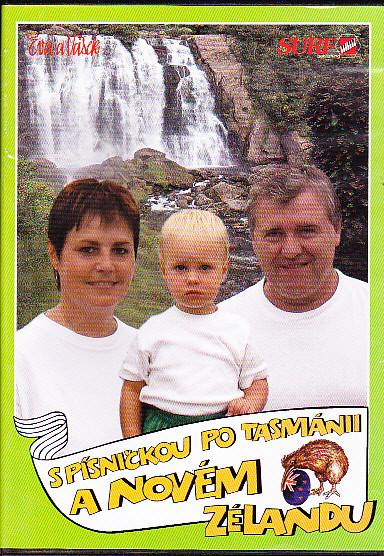 Eva a Vašek - S písničkou po Tasmánii a Novém Zélandu DVD  plast