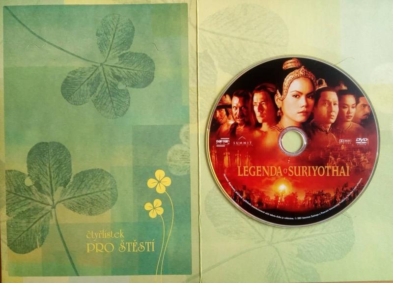 Legenda o Suriyothai DVD (dárková obálka)