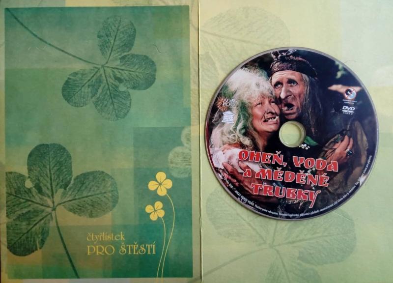 Oheň, voda a měděné trubky DVD - dárková obálka