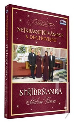 Nejkrásnější vánoce s dechovkou Stříbrňanka Stříbrné vánoce  DVD plast