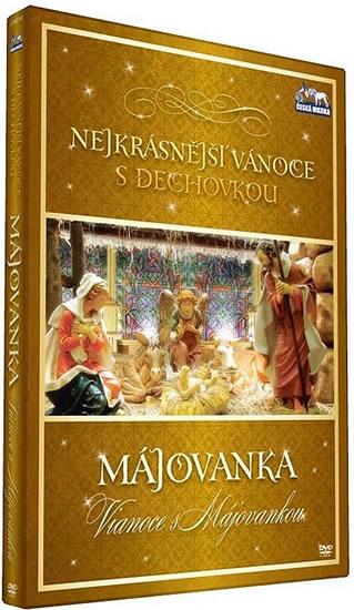 Nejkrásnější vánoce s dechovkou - Májovanka Vianoce s  Májovankou DVD plast