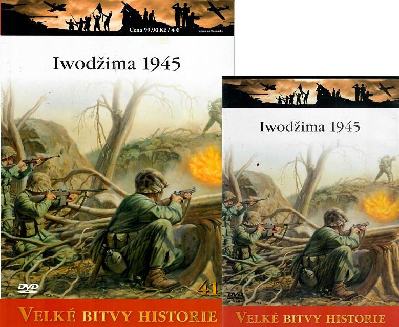 Velké bitvy historie 41 - Iwodžima 1945 ( Časopis + DVD )
