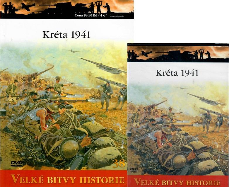 Velké bitvy historie 38 - Kréta 1941 (Časopis + DVD )