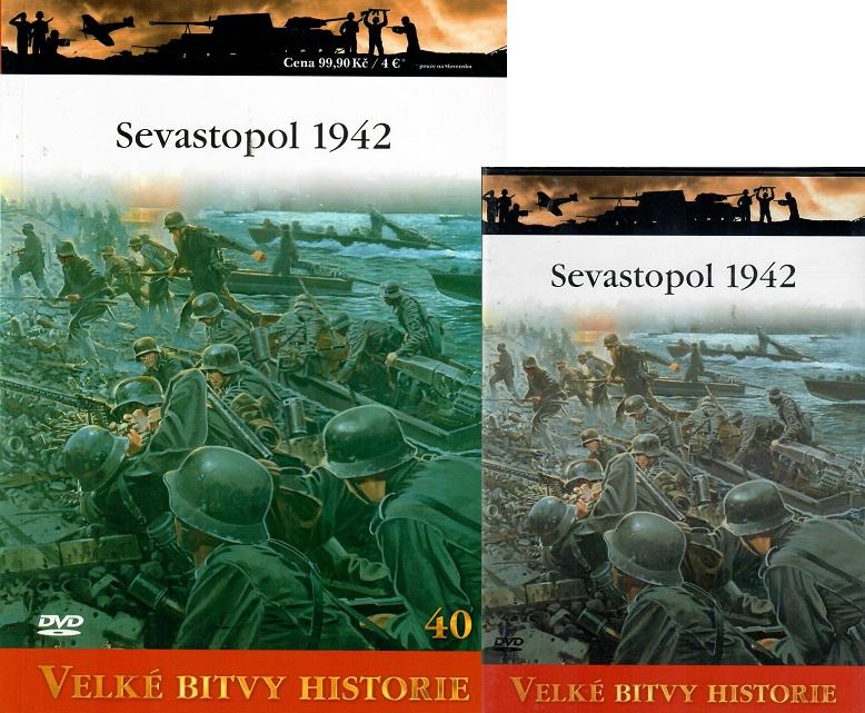 Velké bitvy historie 40 - Sevastopol 1942 ( Časopis + DVD )