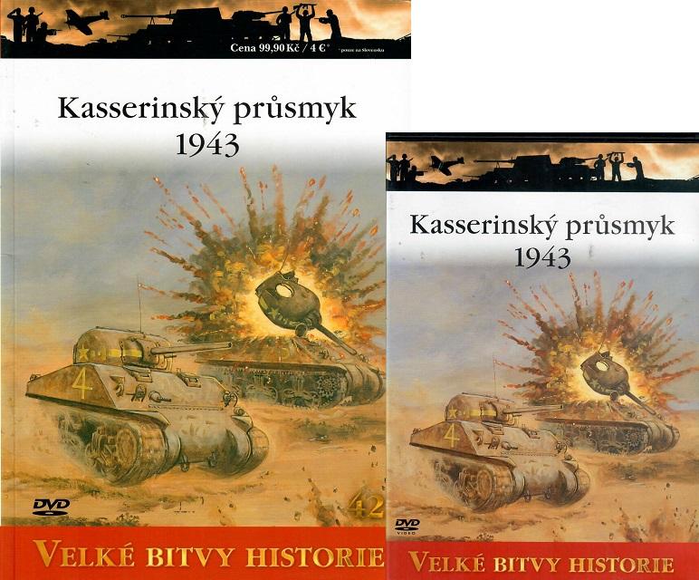 Velké bitvy historie 42 - Kasserinský průsmyk 1943 ( Časopis + DVD )