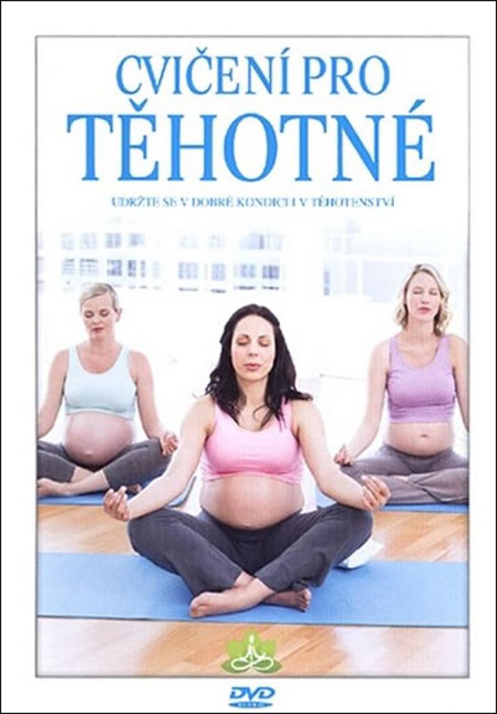 Cvičení pro těhotné DVD plast