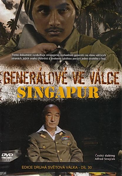Generálové ve válce - Singapur - DVD